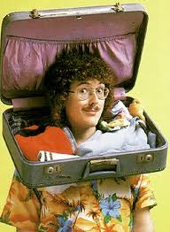 weird al, yankovic, suitcase