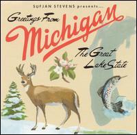 sufjan stevens, greetings from michigan, album, cover, art
