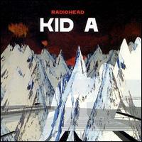 radiohead, kid a, album, cover, art