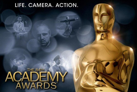 84th, Academy Awards, Oscars