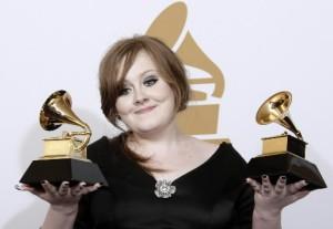 Adele sweeps Grammys