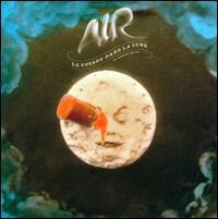 air, le voyage dans la lune, cover, album, art