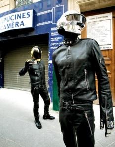 Daft Punk electronic duo
