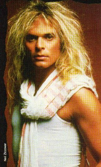 david lee roth, looks like a girl