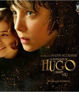 Hugo, Scorsese, Cabret, Movie, Poster