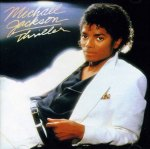 Michael Jackson Thriller album cover art