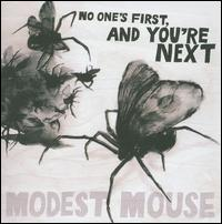 modest mouse, no one's first you're next, album, cover, art