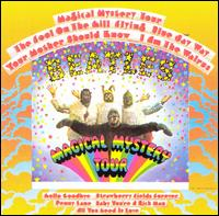 the beatles, magical mystery tour, album, cover, art