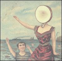 neutral milk hotel, in the aeroplane over the sea, album, cover, art