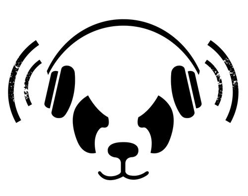 the white panda, dj, duo, crazy, fun