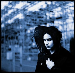 Jack White, Blunderbuss, solo cover art, album cover, solo debut, piano player,