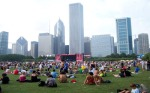 Downtown Chicago and Lollapalooza 2012