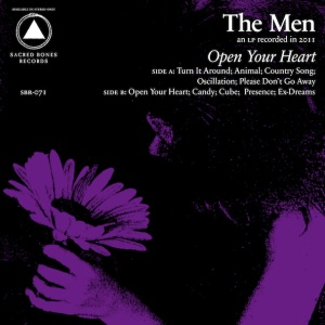 The Men, Open Your Heart, album cover, cover art