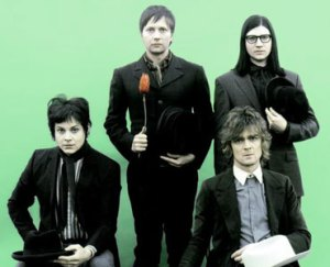 The Raconteurs, band photo, Jack White, Carolina Drama, best Raconteurs song,