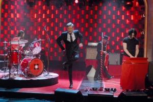 White Stripes, Conan O'Brien, NBC, John the Revelator, Cannon, live performance,