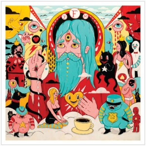 album cover art for father john misty joshua tillman solo album fear fun ex fleet fox