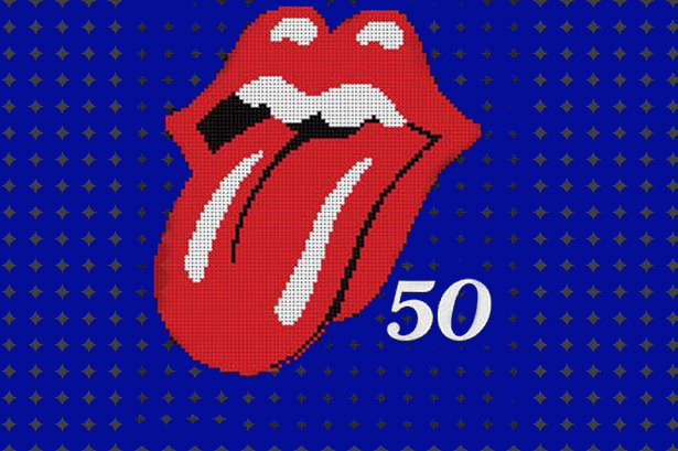 the rolling stones, the stones, rolling stones, 50 years, 50, 50 anniversary, 50th anniversary, hits, songs, album cover,