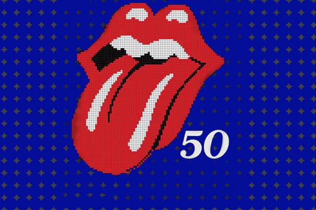 the rolling stones, the stones, rolling stones, 50 years, 50, 50 anniversary, 50th anniversary, hits, songs, album cover,