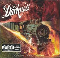 the darkness, one way ticket to hell...and back, album, cover, art