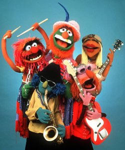 the muppet band for the muppet movie