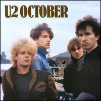 u2, october, album, cover, art