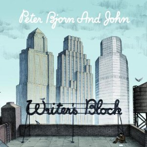 Peter Bjorn & John Writer's Block album cover art