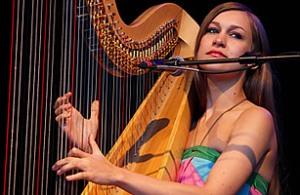 Joanna Newsom singer songwriter harp musician