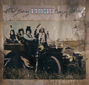 neil young and crazy horse americana album cover art