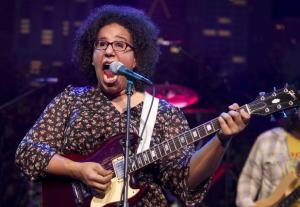 Brittany Howard singer for Alabama Shakes