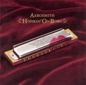 cover album art for aerosmith honkin on bobo