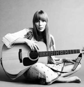 Joni Mitchell acoustic singer songwriter poet female