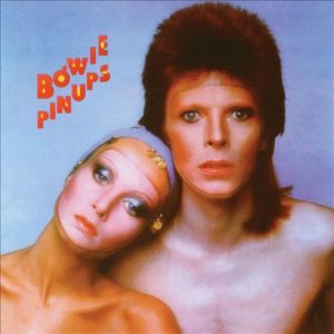 album cover art for david bowie pin ups