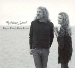 album cover art for robert plant and alisson krauss raising sand