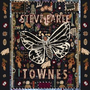 album cover art for steve earle townes