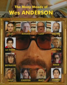 The many moods of Wes Anderson