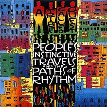cover art for the album A Tribe Called Quest - Peoples Instinctive Travels