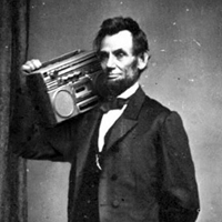 Abraham Lincoln Boom Box