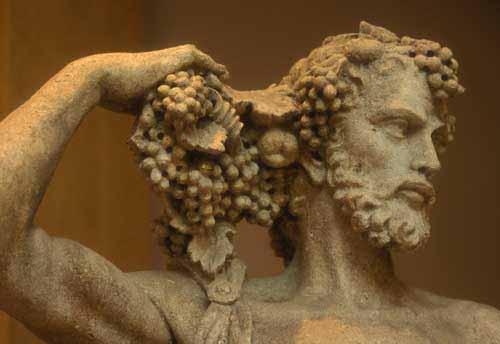 Dinoysus god of wine