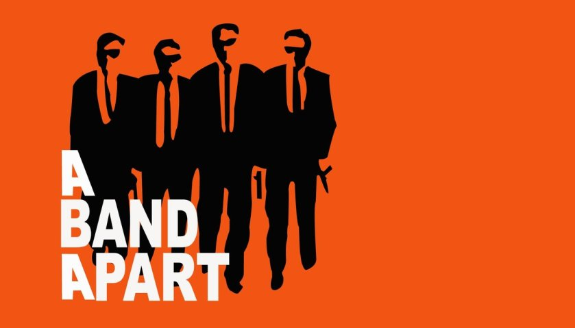 a band apart, production company, logo, quentin tarantino