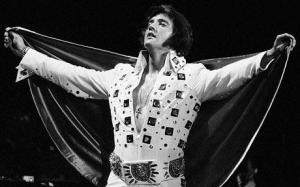 elvis with cape