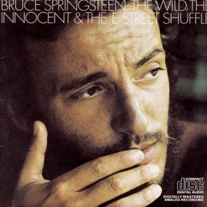 cover art for the album Bruce Springsteen - Wild and Innocent and the E String Shuffle