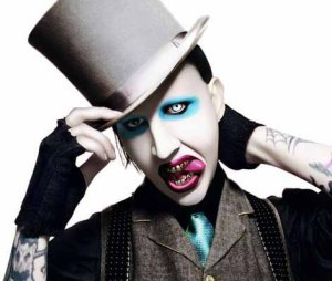 Marilyn Manson, evil supervillain
