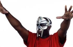 MF Doom, evil supervillain with metal mask
