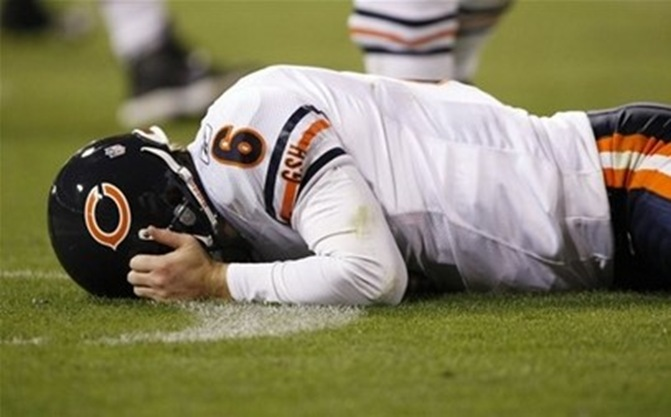 jay cutler, sad, bad, frown