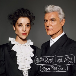 david byrne and st vincent, love this giant, album, cover, art