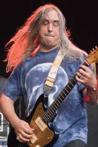J Mascis of garage rock band Dinosaur Jr.