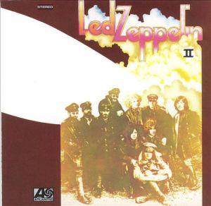 led zeppelin, led zeppelin II, led zeppelin 2, album, cover, art