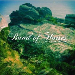 Band of Horses Mirage Rock album cover art