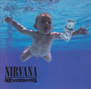 nirvana, nevermind, album, cover, art