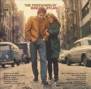 bob dylan, the freewheelin' bob dylan, album, cover, art